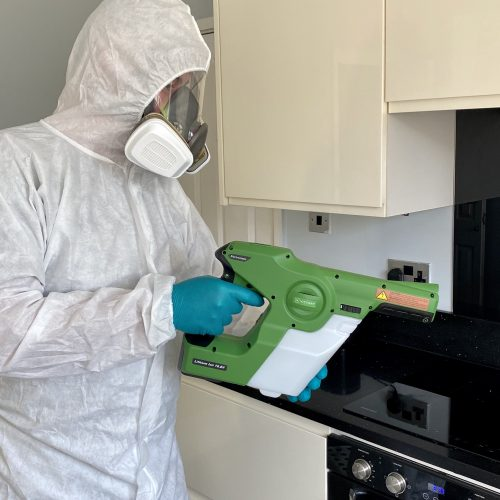 Do you have an area that needs decontaminating or disinfecting?