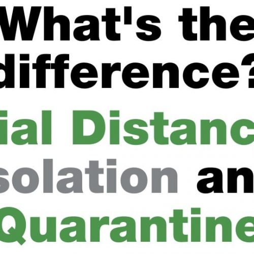 What's The Difference Between Social Distancing, Isolation & Quarantine?